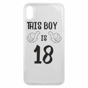 Phone case for iPhone Xs Max This boy is 18!