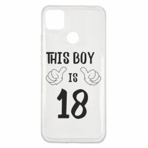 Xiaomi Redmi 9c Case This boy is 18!