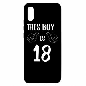 Xiaomi Redmi 9a Case This boy is 18!