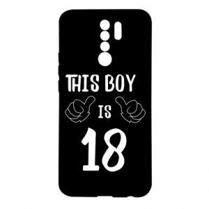 Xiaomi Redmi 9 Case This boy is 18!