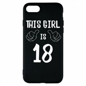 Etui na iPhone 8 This girl is 18!