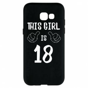 Etui na Samsung A5 2017 This girl is 18!
