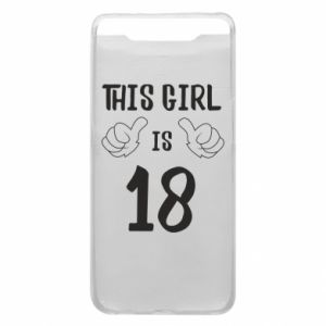 Etui na Samsung A80 This girl is 18!