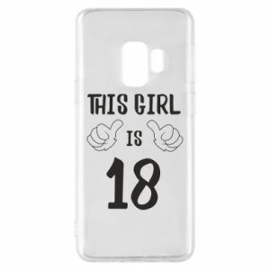 Etui na Samsung S9 This girl is 18!