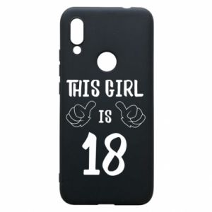 Etui na Xiaomi Redmi 7 This girl is 18!