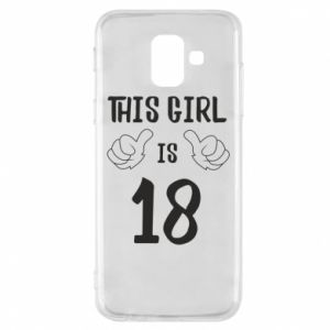 Etui na Samsung A6 2018 This girl is 18!