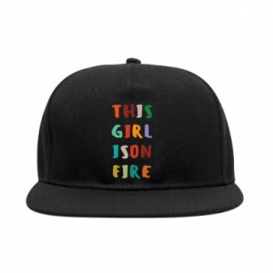 SnapBack This girl is on fire