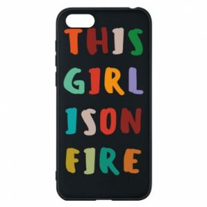 Phone case for Huawei Y5 2018 This girl is on fire