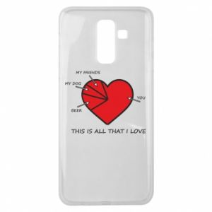 Samsung J8 2018 Case This is all that I love