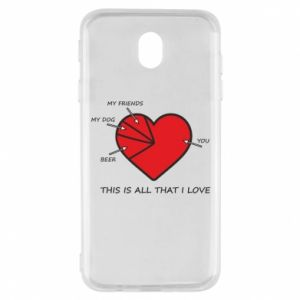 Samsung J7 2017 Case This is all that I love
