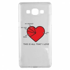 Samsung A5 2015 Case This is all that I love