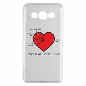 Samsung A3 2015 Case This is all that I love
