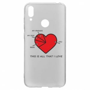 Huawei Y7 2019 Case This is all that I love
