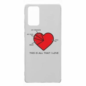 Samsung Note 20 Case This is all that I love