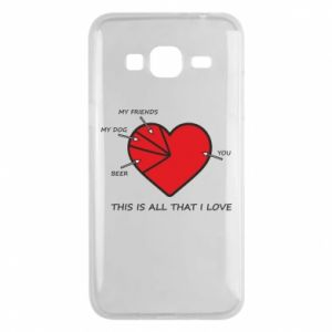 Samsung J3 2016 Case This is all that I love