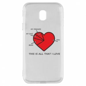 Samsung J3 2017 Case This is all that I love