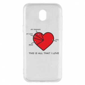 Samsung J5 2017 Case This is all that I love
