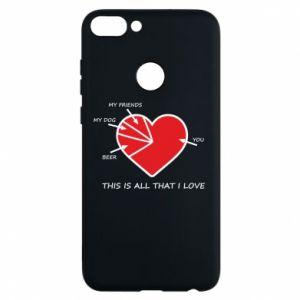 Etui na Huawei P Smart This is all that I love - PrintSalon