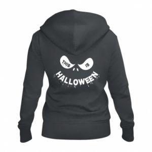 Women's zip up hoodies This is halloween - PrintSalon
