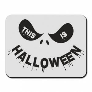 Mouse pad This is halloween - PrintSalon