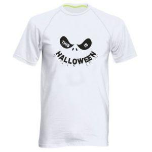 Męska koszulka sportowa This is halloween
