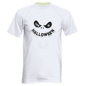 Men's sports t-shirt This is halloween - PrintSalon
