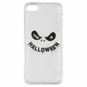 Etui na iPhone 5/5S/SE This is halloween