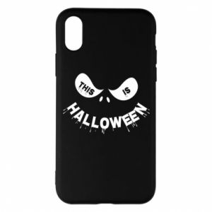 Phone case for iPhone X/Xs This is halloween - PrintSalon