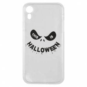 Etui na iPhone XR This is halloween