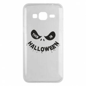 Phone case for Samsung J3 2016 This is halloween - PrintSalon