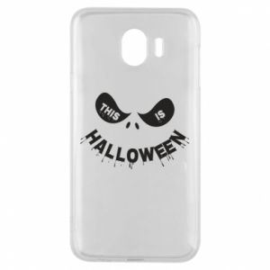 Phone case for Samsung J4 This is halloween - PrintSalon