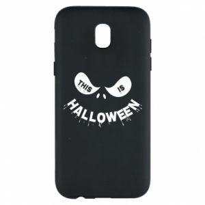 Phone case for Samsung J5 2017 This is halloween - PrintSalon
