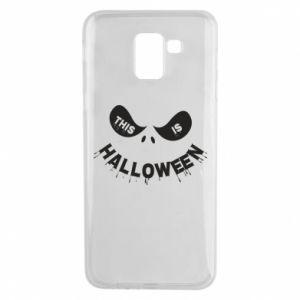 Phone case for Samsung J6 This is halloween - PrintSalon