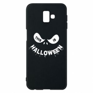 Phone case for Samsung J6 Plus 2018 This is halloween - PrintSalon