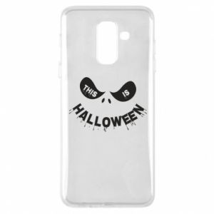 Phone case for Samsung A6+ 2018 This is halloween - PrintSalon