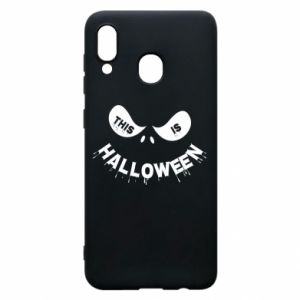 Phone case for Samsung A20 This is halloween - PrintSalon