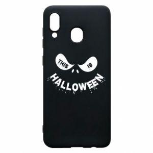 Etui na Samsung A20 This is halloween