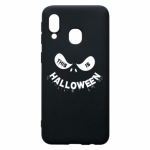 Phone case for Samsung A40 This is halloween - PrintSalon