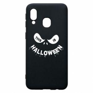 Etui na Samsung A40 This is halloween