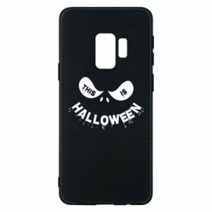 Phone case for Samsung S9 This is halloween - PrintSalon