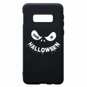 Phone case for Samsung S10e This is halloween - PrintSalon