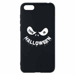 Phone case for Huawei Y5 2018 This is halloween - PrintSalon