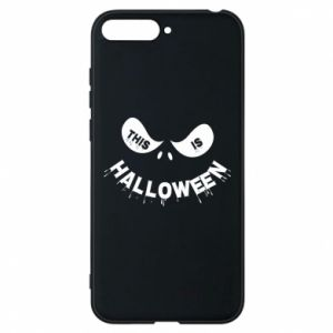 Phone case for Huawei Y6 2018 This is halloween - PrintSalon
