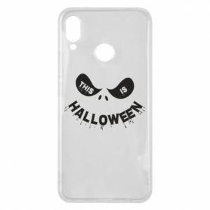 Phone case for Huawei P Smart Plus This is halloween - PrintSalon