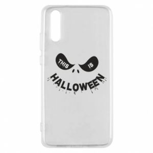 Phone case for Huawei P20 This is halloween - PrintSalon