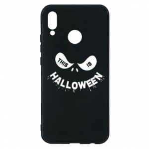 Phone case for Huawei P20 Lite This is halloween - PrintSalon