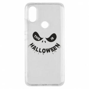Phone case for Xiaomi Mi A2 This is halloween - PrintSalon