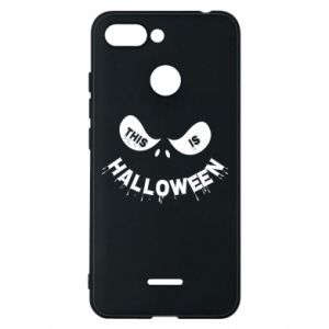 Phone case for Xiaomi Redmi 6 This is halloween - PrintSalon