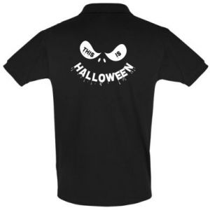 Men's Polo shirt This is halloween - PrintSalon