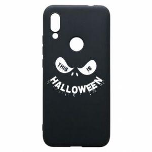 Phone case for Xiaomi Redmi 7 This is halloween - PrintSalon